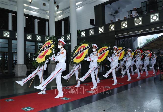 Ảnh: Lãnh đạo Đảng, Nhà nước viếng Đại tướng Phùng Quang Thanh - 14