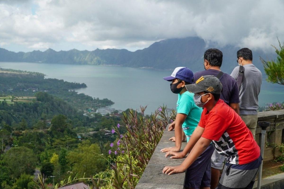 Du khách nội địa đến Bali tăng trở lại khi dịch Covid-19 giảm. Ảnh: Getty