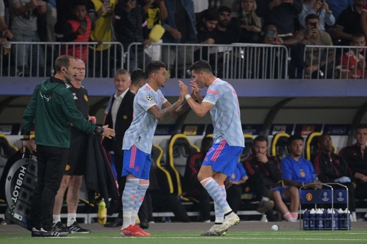 Cristiano Ronaldo phải rời sân nhường chỗ cho Jesse Lingard ở phút 72 khi tỷ số đang là 1-1.