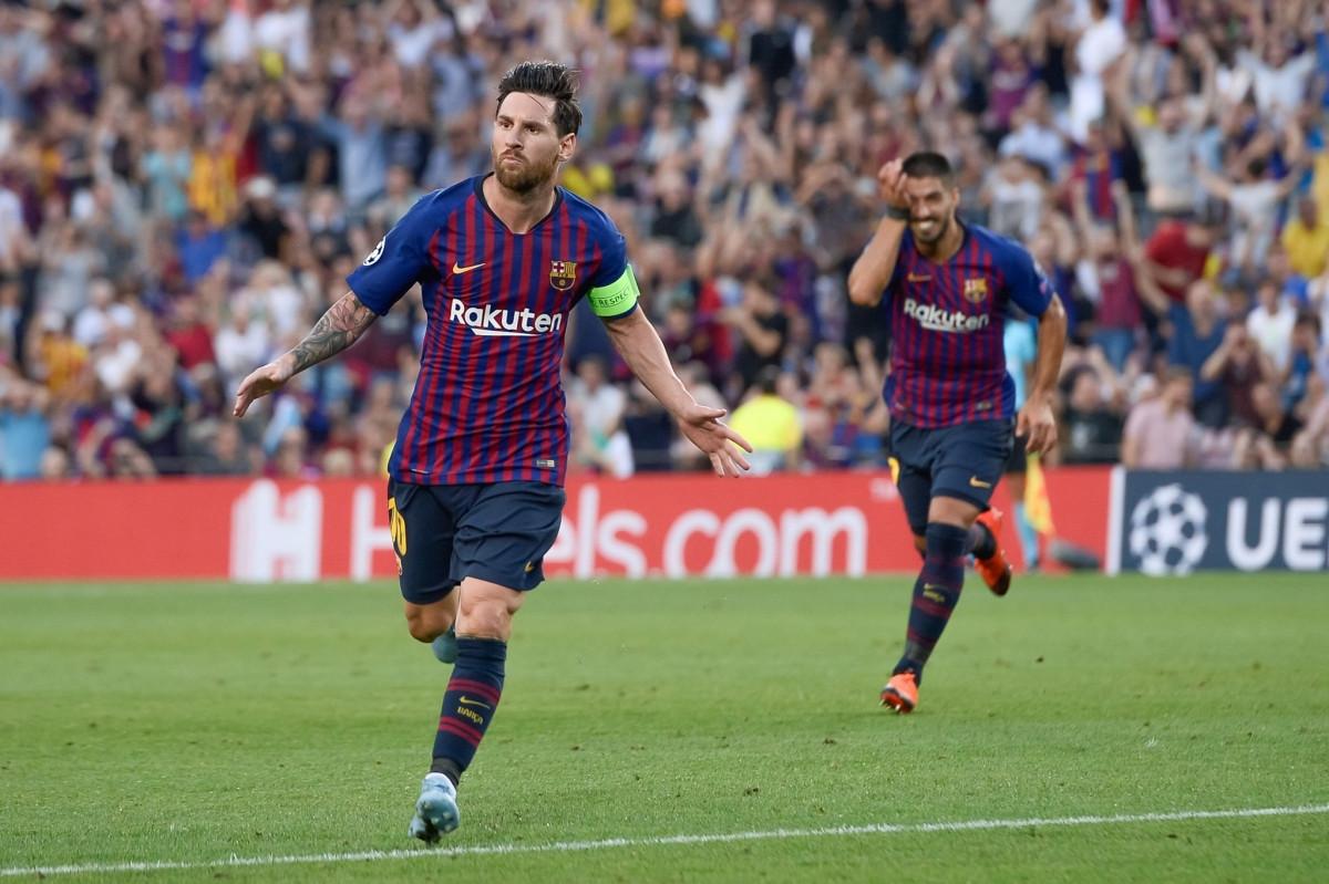 Ngày này 3 năm trước, Messi lần cuối cùng ghi được hat-trick cho Barca ở đấu trường Champions League. (Ảnh: Getty).