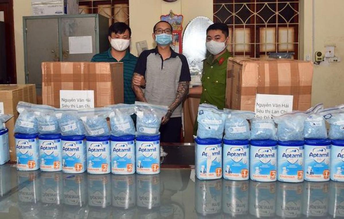 Ma túy được đóng trong hộp sữa gửi về Việt Nam