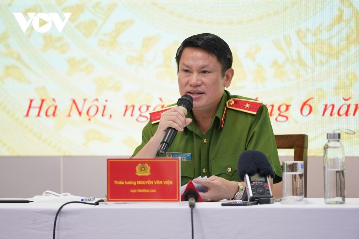 Thiếu tướng Nguyễn Văn Viện, Cục trưởng Cục Cảnh sát điều tra tội phạm về ma túy (Bộ Công an)