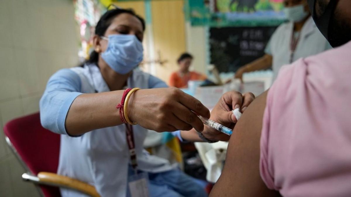 200 triệu người dân Ấn Độ đã tiêm chủng đầy đủ. Ảnh: ABC News